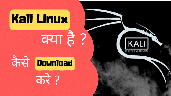 Image that represent the Question What is Kali Linux in hindi