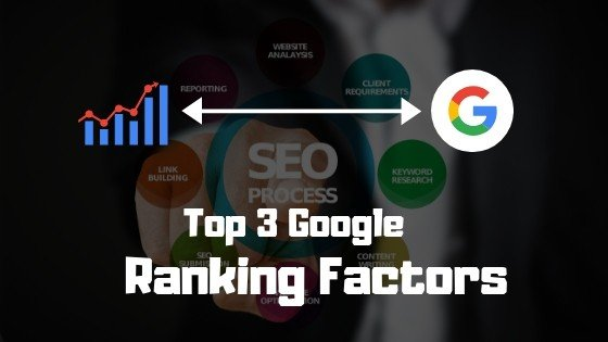Google ranking factors, ranking factors